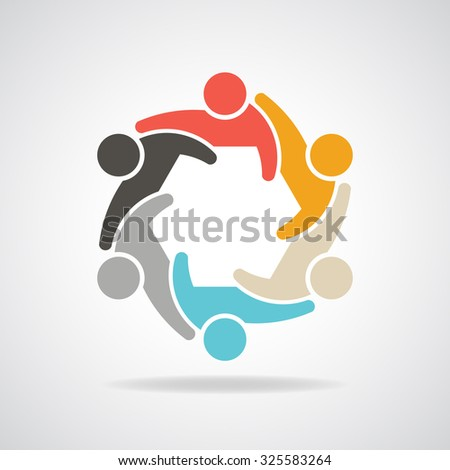 People for infographic group of persons - stock vector
