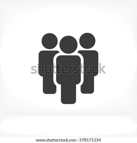 People Icon, people icon flat, people icon picture, people icon vector, people icon EPS10, people icon graphic, people icon object, people icon JPEG, people icon picture, people icon image - stock vector