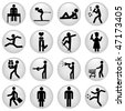 people icons - stock photo