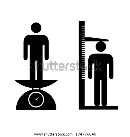 People icons: evaluation. - stock vector