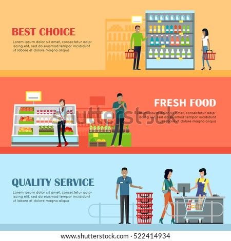 Supermarket interior stock images royalty free images - Interior design shopping websites ...