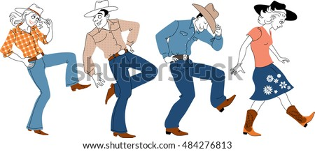Country Western Dancing Stock Images, Royalty-Free Images ...