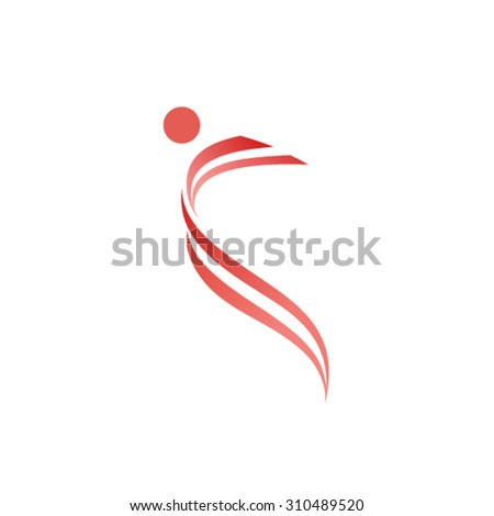 People Logo Design Template  - stock vector