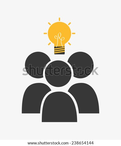people mind - stock vector