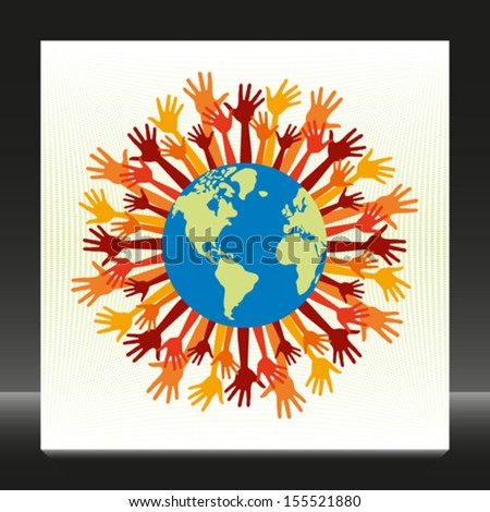 People of the world.  - stock vector