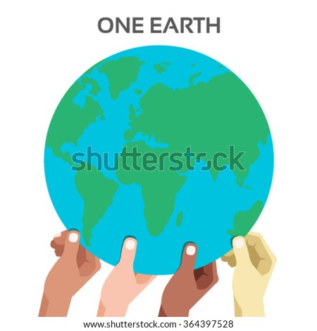 People of the world vector for global cooperation, teamwork, interconnection, network, unity, world-peace - stock vector
