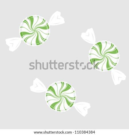 Peppermints - stock vector