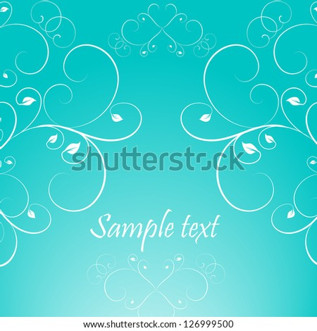 Perfect for invitations and ornate backgrounds. Wedding card or invitation with abstract damask background. Abstract greeting card.
