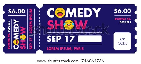 Performance show entry ticket design open stock vector for Entry tickets template