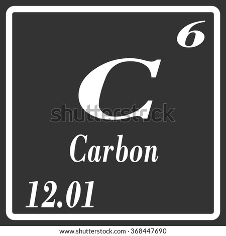 Periodic table elements carbon stock vector 368447690 shutterstock periodic table of elements carbon urtaz Gallery