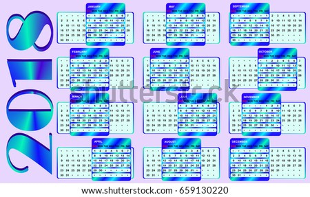 Perpetual Calendar Stock Images RoyaltyFree Images  Vectors