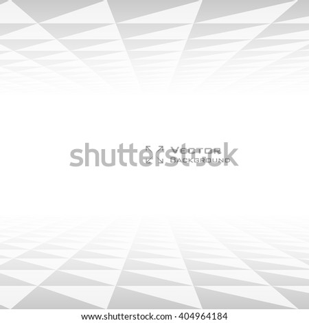 Perspective Triangle Abstract Background with copyspace. Lowpoly Trendy Vector Illustration.  - stock vector