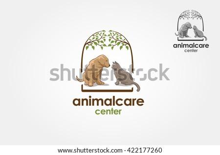 Pet logo vector illustration - stock vector