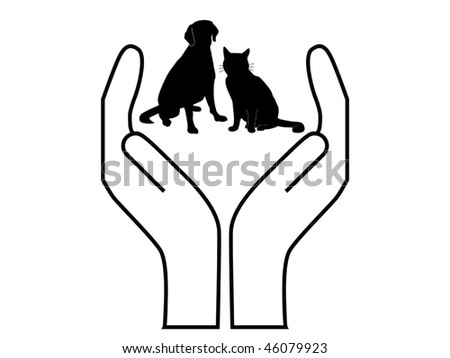 pet protection  vector