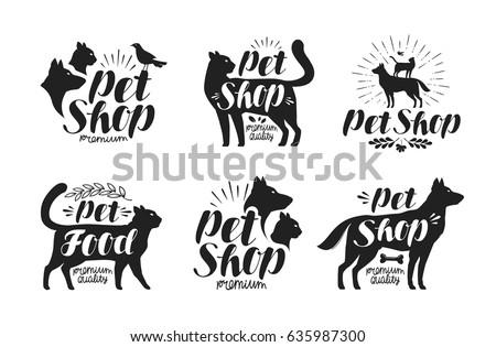 M Rank Pet Shop Label Set