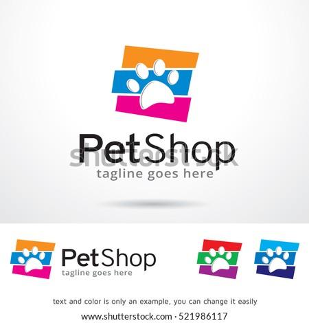 pet shop logo stock images royaltyfree images amp vectors