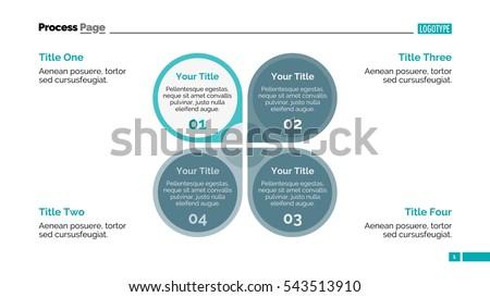Petal Diagram Slide Template Stock Vector 543513910 - Shutterstock