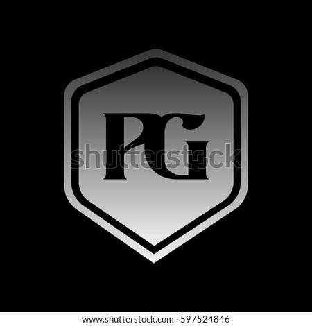 Pg Logo Stock Vector 597524846 - Shutterstock