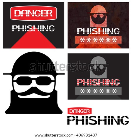 Phishing. Variations on the theme of computer security development ,of pictorial expression.