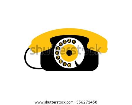 Phone Icon - stock vector