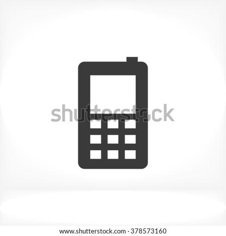 Phone Icon, phone icon flat, phone icon picture, phone icon vector, phone icon EPS10, phone icon graphic, phone icon object, phone icon JPEG, phone icon picture, phone icon image, phone icon drawing - stock vector