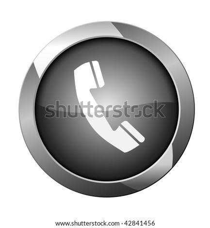 Phone icon. Vector illustration - stock vector