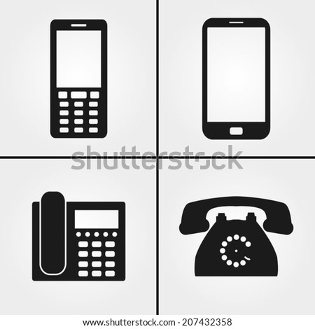 Landline Icon Stock Images, Royalty-Free Images & Vectors ...