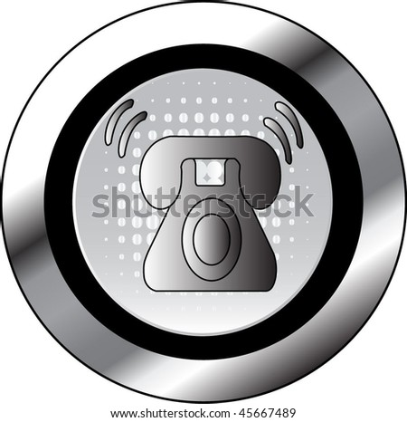 phone sign icon button