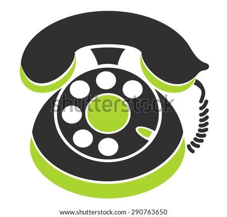 Phone Symbol - stock vector