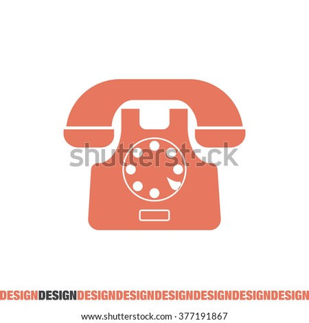 phone symbol vector icon