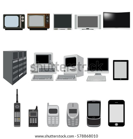 Computer Evolution Stock Images, Royalty-Free Images & Vectors ...