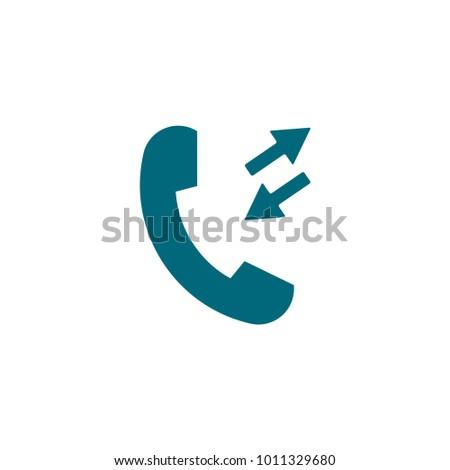 Phone Vector Icon Telephone Symbol Stock Vector Royalty Free