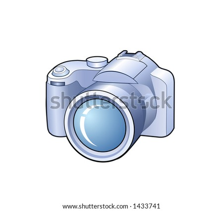 Photo camera - detailed icon