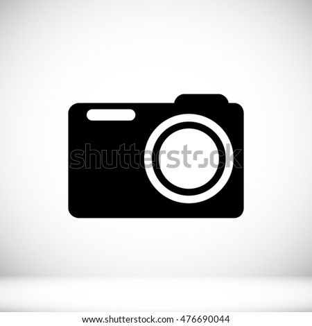 photo camera icon, vector best flat, EPS