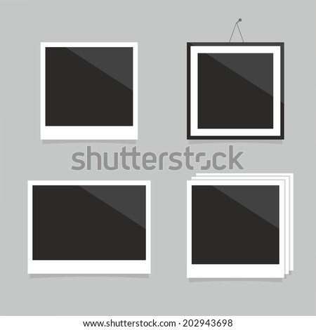 photo frame - stock vector