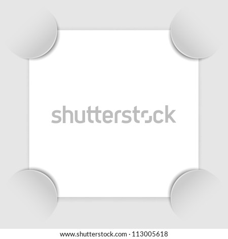 Photo frame corners, vector illustration