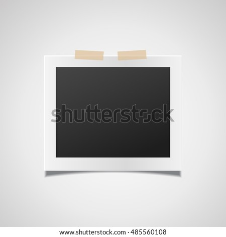 photo frame vector photo frame eps10