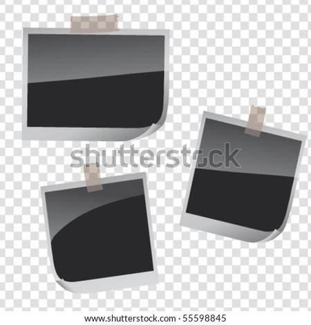 Photo Frames - stock vector