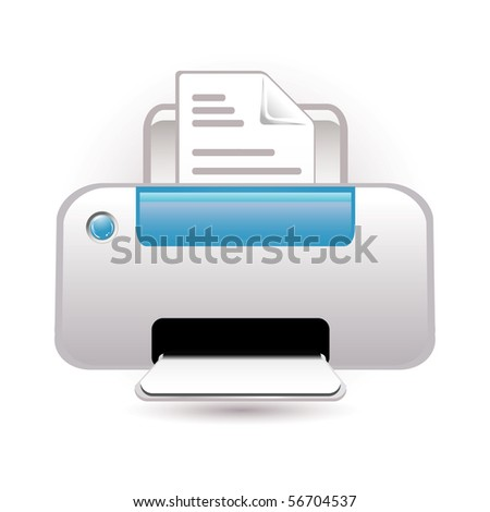photocopy - stock vector