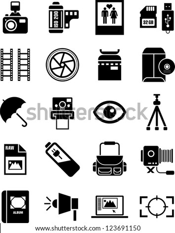 Photography Icon Stock Vectors, Images & Vector Art | Shutterstock