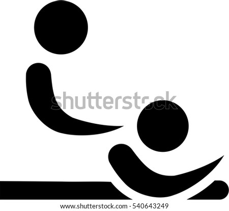 Physical Therapist Abstract Icon Stock Vector 540643249 Shutterstock