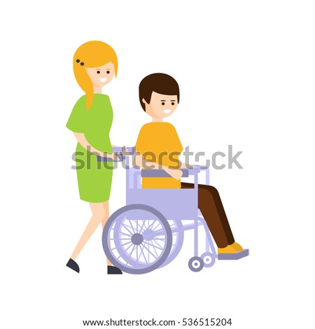 dating disabled man