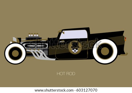 rat rod stock images royalty free images vectors. Black Bedroom Furniture Sets. Home Design Ideas