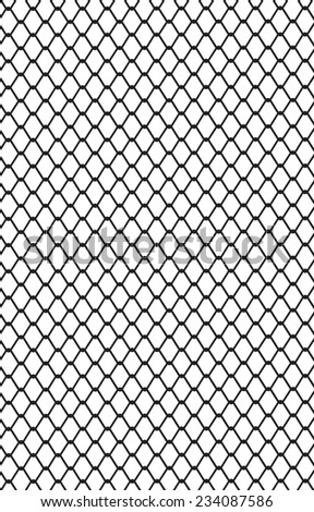 Picture Metal Wire Mesh Made Steel Stock Vector 234087586 ...
