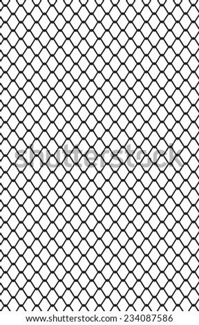 Picture Metal Wire Mesh Made Steel Stock Vector 234087586 - Shutterstock