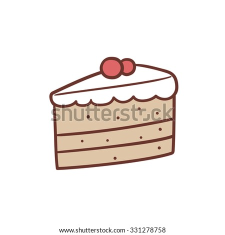 Image result for piece of cake eating child clipart\