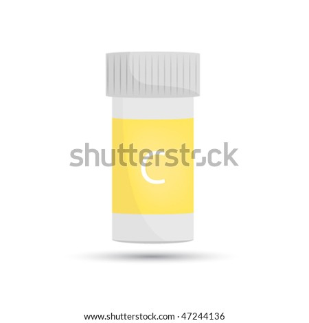 Pill bottle. Drug package