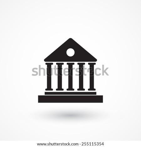 Pillar icon - stock vector