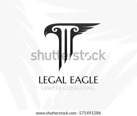 Pillar Eagle Had Wing Law Firm Vector 571491286 Shutterstock – Notary Template