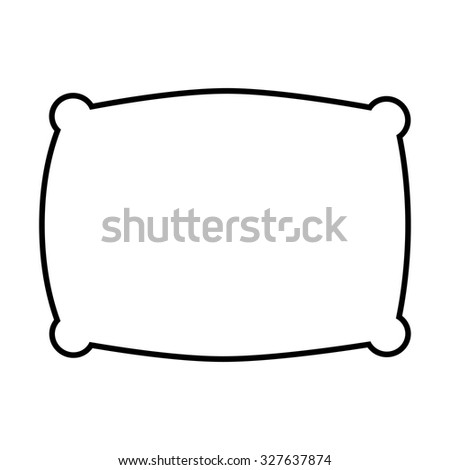 pillow icon stock images royaltyfree images amp vectors